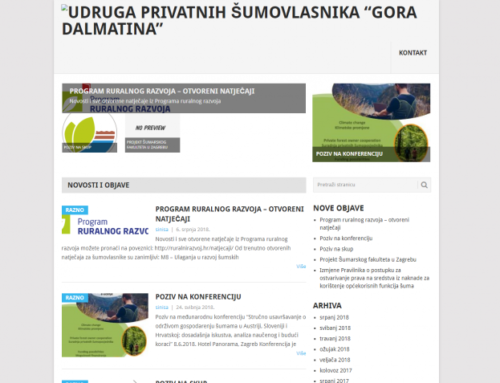 UPS Gora Dalmatina